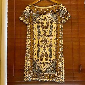 Tory Burch Lisbon Ikat Cotton T-shirt Dress